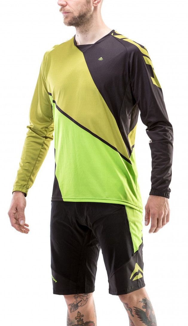 Веломайка Merida ENDURO LS LONG SLEEVE JERSEY green-green 04112#054 L, 04112#054 M, 04112#054 XL, 04112#054 S