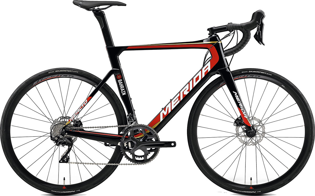 Велосипед Merida REACTO DISC 4000 black team replica 6110790961 6110790972