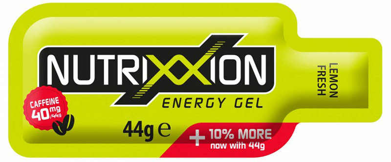 Гель энергетический Nutrixxion ENERGY GEL 44г lemon fresh 40мг кофеина 440091