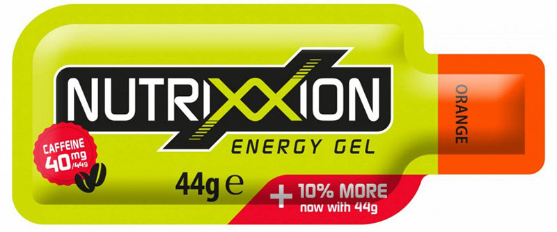 Гель энергетический Nutrixxion ENERGY GEL 44г orange 40мг кофеина 440114