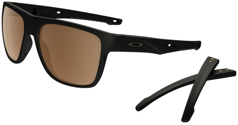 Очки Oakley CROSSRANGE XL matte black-prizm tungsten polarized