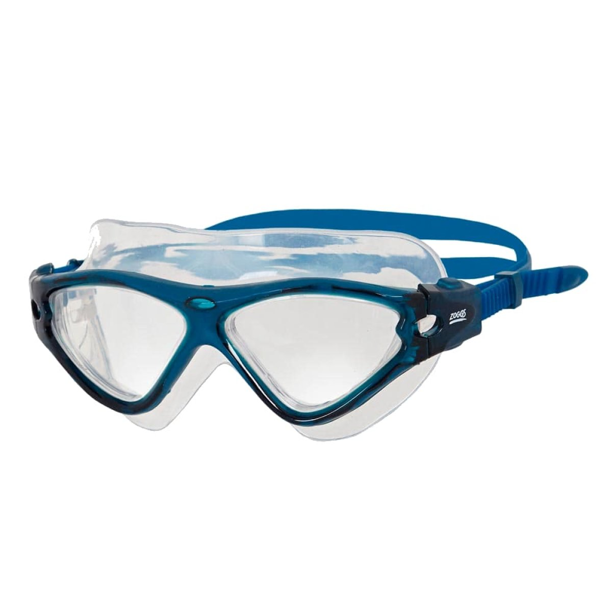 Очки-маска Zoggs Tri-Vision Mask Clear / T.Blue 302919
