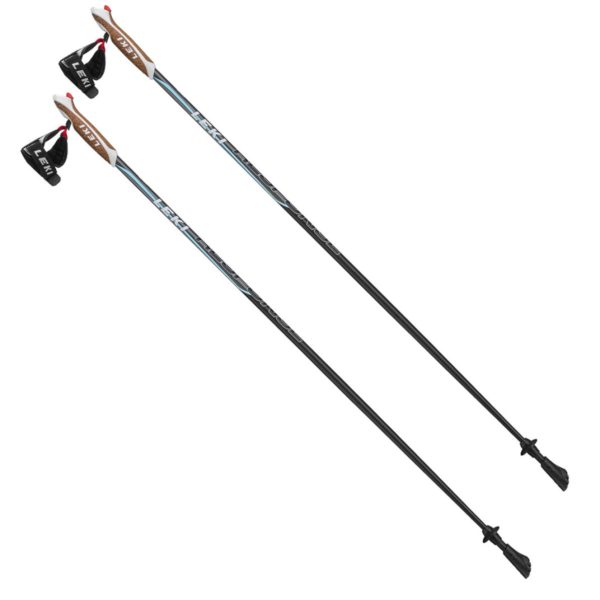 Палки Leki Response Lady Nordic Walking Black-Blue