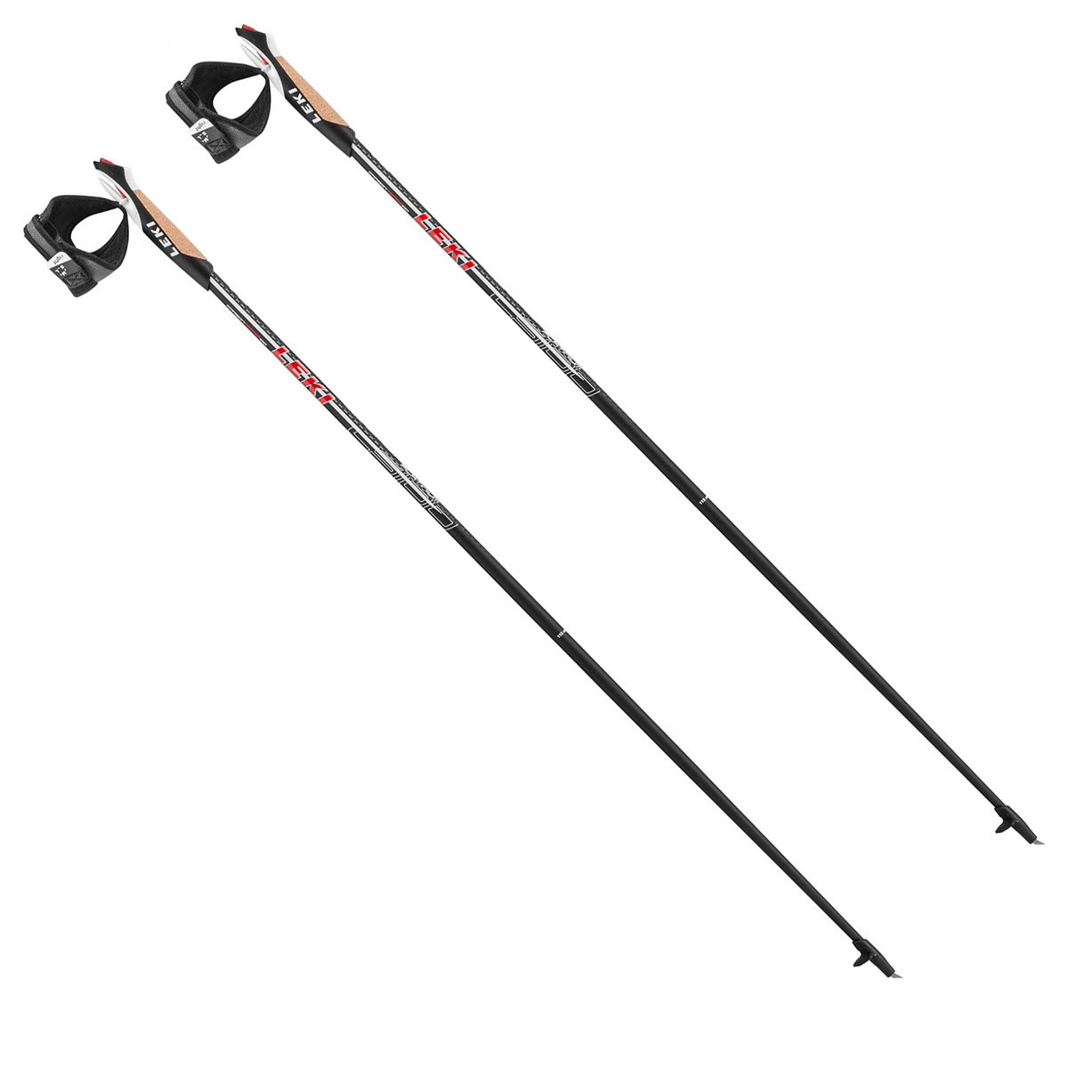 Палки Leki Walker Platinum Nordic Walking Black