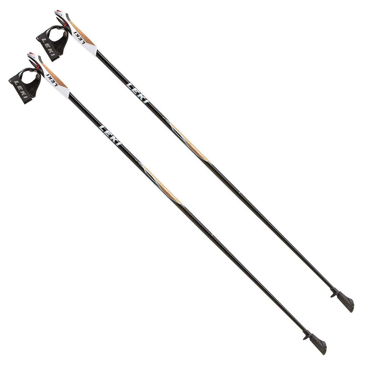 Палки Leki Walker Platinum Nordic Walking Black 115-M 635 2538