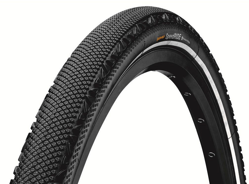 "Покрышка Continental Speed Ride 28""x1.6"", Puncture ProTection, Skin Reflex 100716"