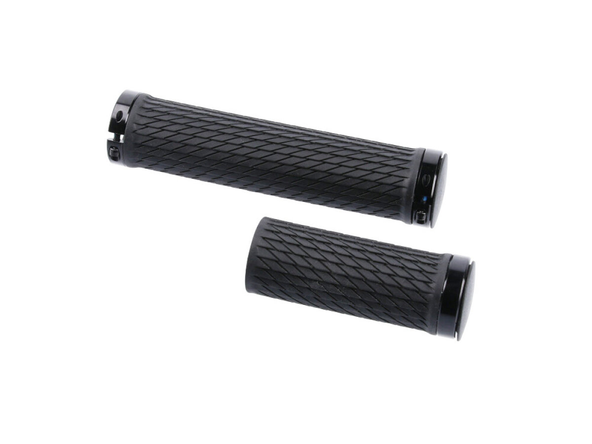 Ручки руля Sram Locking Grips for TwistLoc 77/125mm with Black Clamps + End Plug 00.4318.026.000