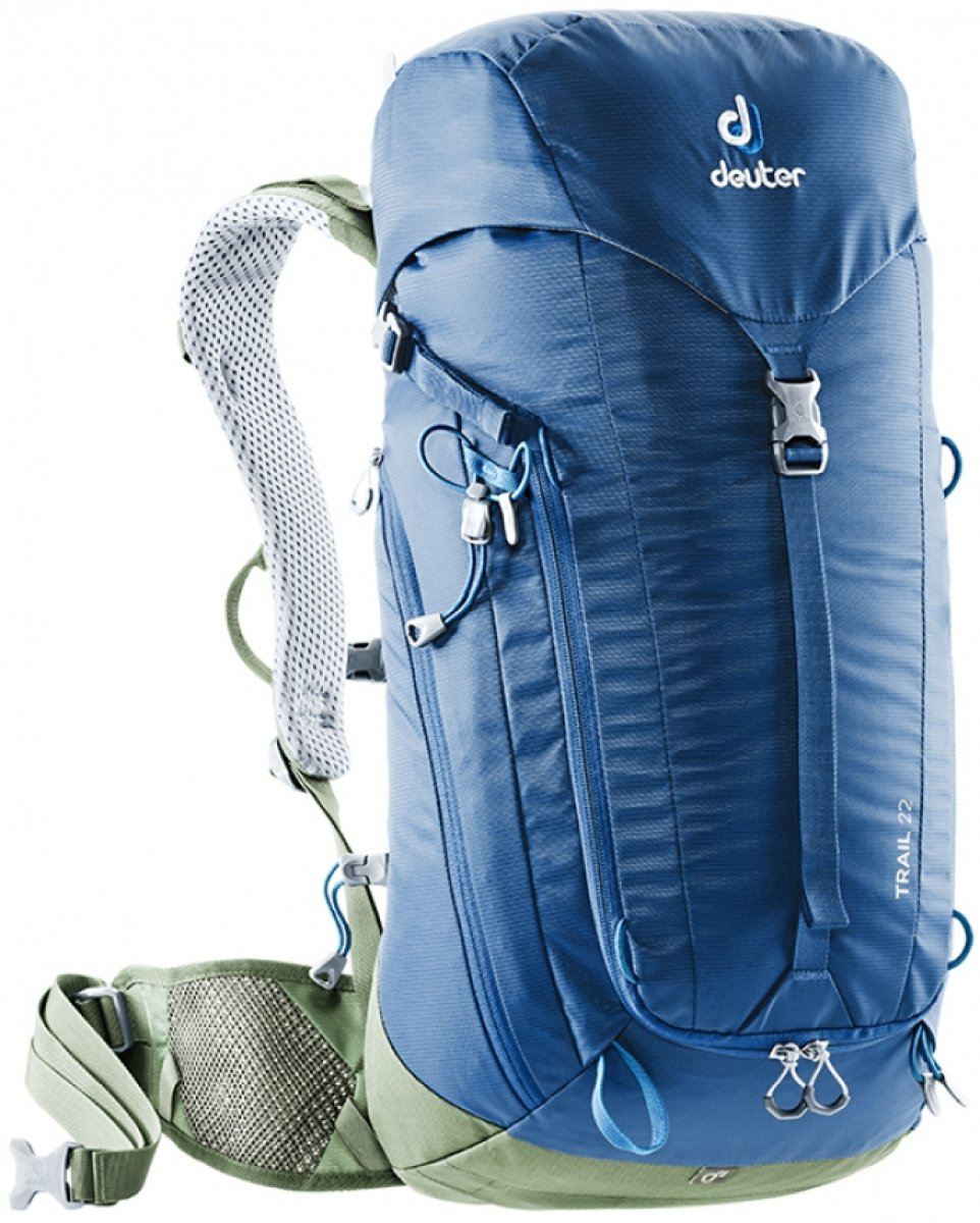 Рюкзак Deuter Trail 22 цвет 3235 steel-khaki 3440119 3235