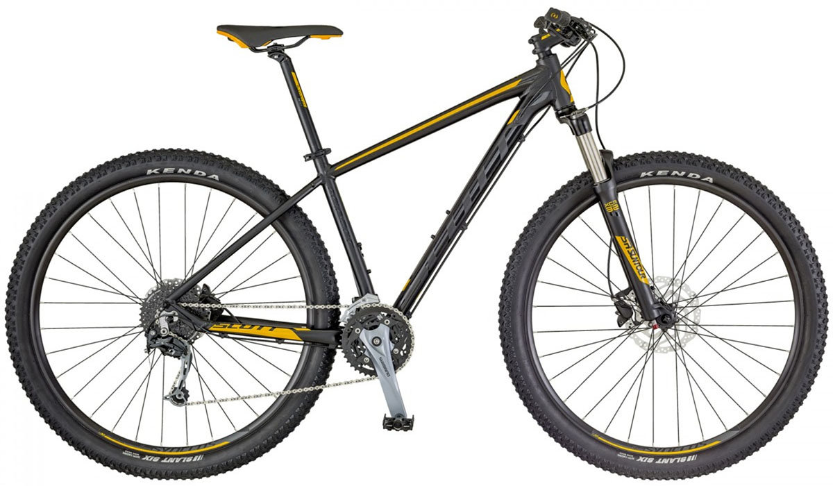 Велосипед Scott ASPECT 730 black-yellow 265301.007 265312.007 265312.008 265312.009