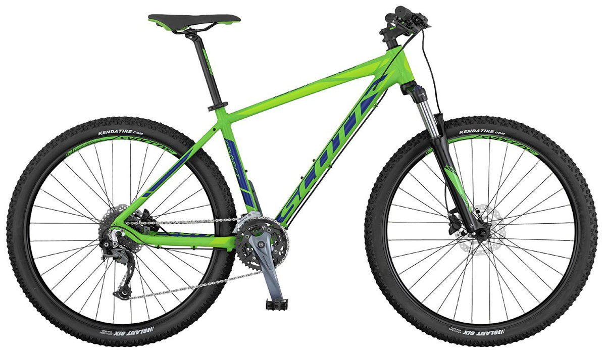 Велосипед Scott ASPECT 740 green-blue