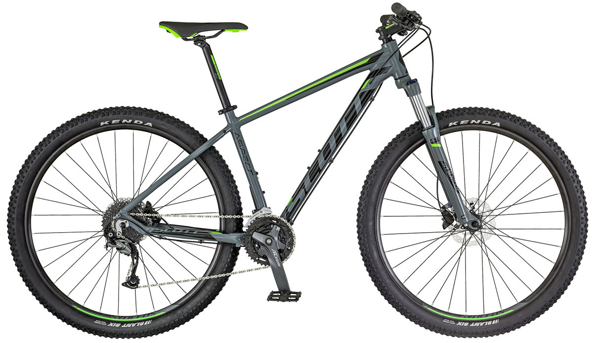 Велосипед Scott ASPECT 740 grey-green 265315.007 265315.008 265315.009