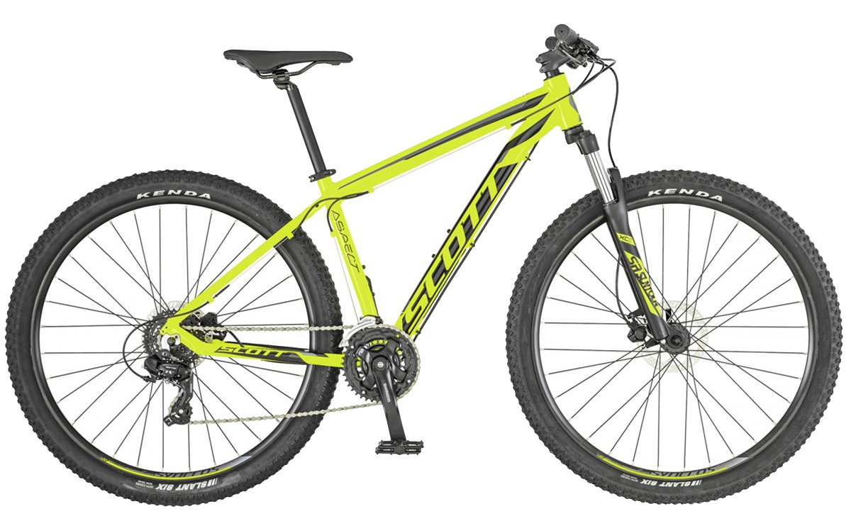 Велосипед Scott ASPECT 760 27,5 yellow-grey 269829.007 269829.008