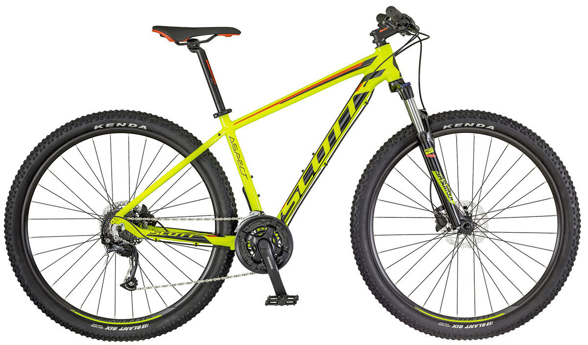 Велосипед Scott ASPECT 950 29 yellow-red 265293.009