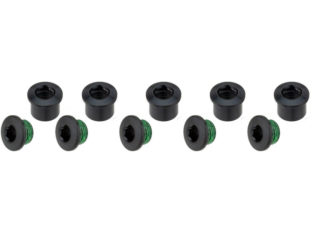 Бонки Sram CHAINRING BOLT KIT 5 ALUM/BLACK 11.6915.009.000