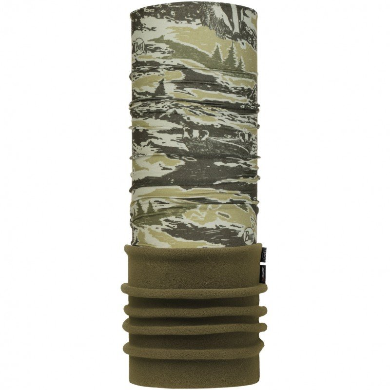Шарф Buff Junior Polar Wild Nature Khaki BU 118256.854.10.00