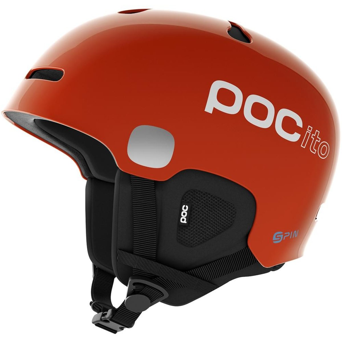 Шлем горнолыжный POC POCito Auric Cut SPIN Fluorescent Orange PC 104989050MLG1