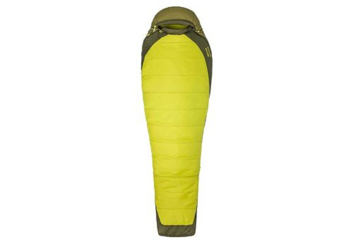 Спальник Marmot Trestles Elite 30 Citronelle/Fir Green, Left