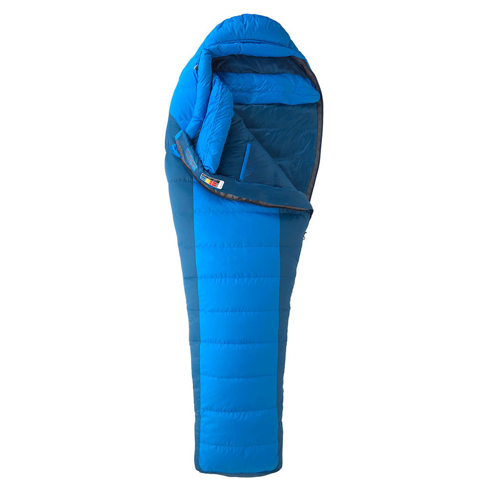 Спальный мешок Marmot Sawtooth Long X Wide Cobalt Blue/Blue Night, Right Zip