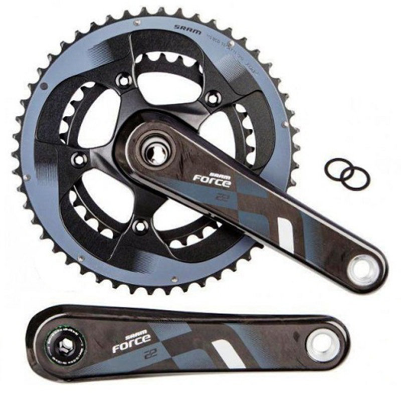 Шатуны Sram FORCE22 GXP 177,5 53/39 YAW GXP cups not included 00.6118.108.004