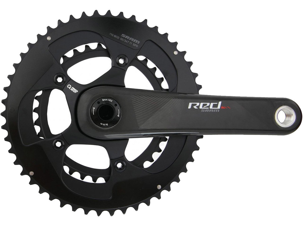 Шатуны Sram RED EXOGRAM BB386 172.5 50/34 bearings not included 00.6118.446.002