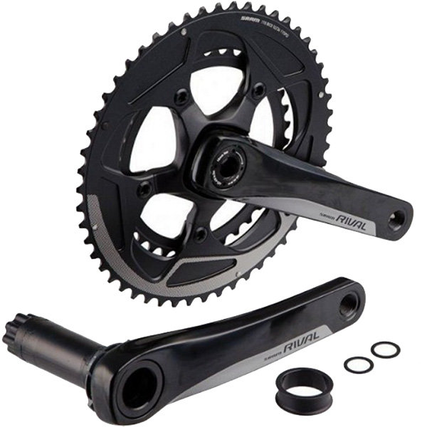 Шатуны Sram RIVAL22 BB30 172,5 46/36 YAW bearings not included 00.6118.250.001