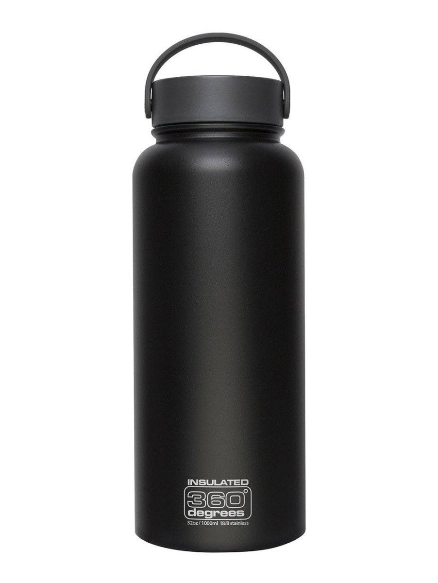 Термофляга Sea to Summit Wide Mouth Insulated Black 1000 ml STS 360SSWMI1000BLK