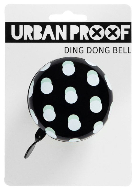 Звонок Urban Proof DING DONG dots black