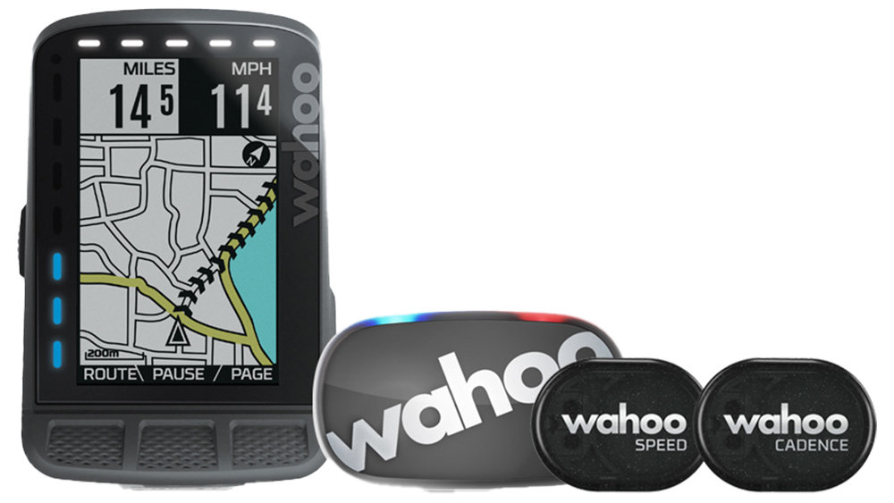Велокомпьютер Wahoo Roam GPS Bundle черный WFCC4B2