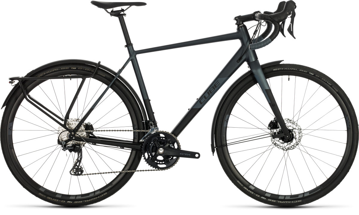 Велосипед Cube Nuroad Race FE 28 black/iridium 380210-53