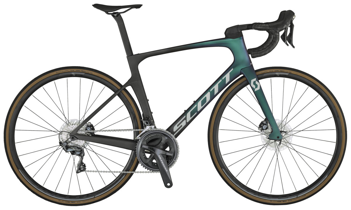Велосипед Scott Foil 30 Green/Black 280600.023, 280600.022