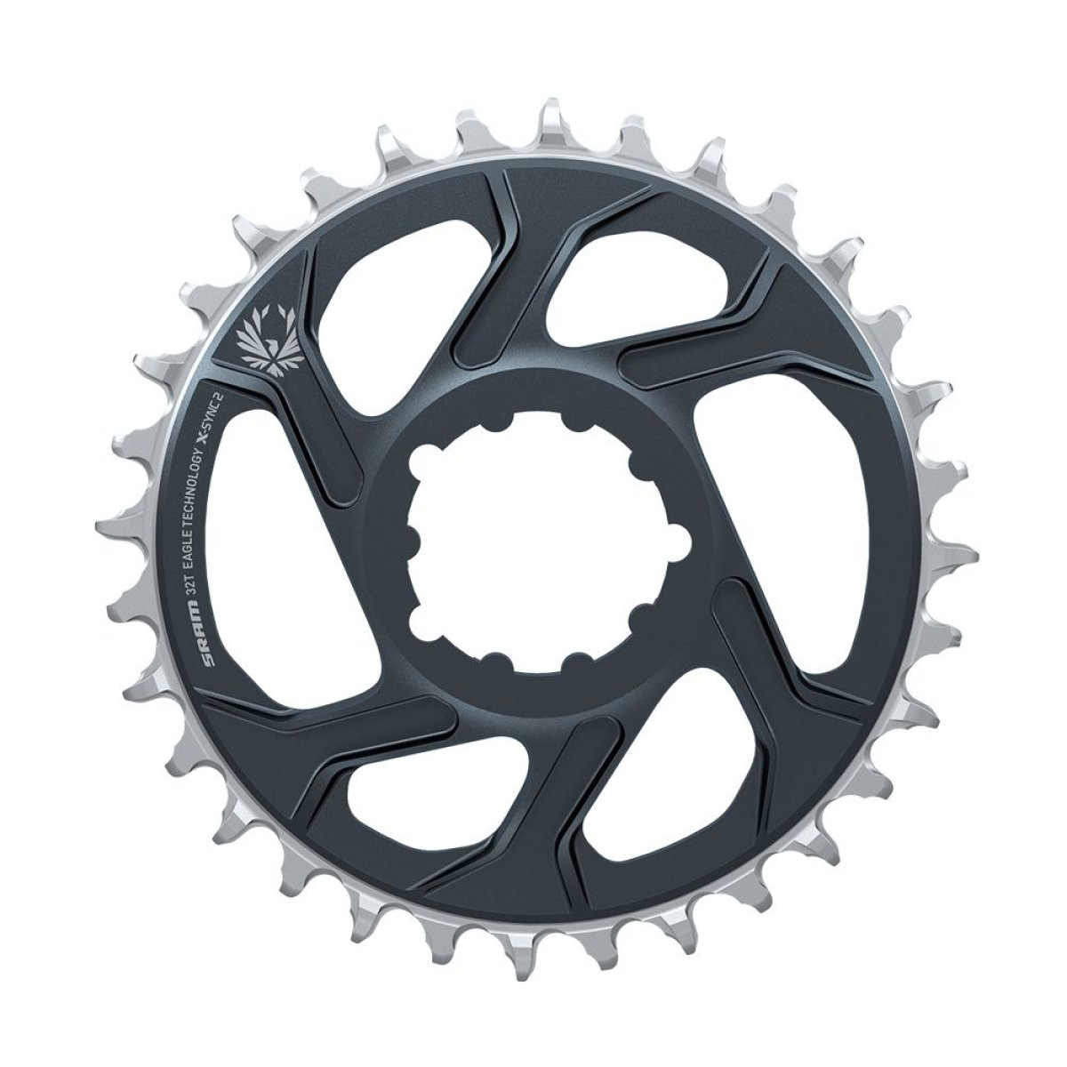 Звезда Sram X-SYNC 2 Direct Mount 6mm Offset Eagle Lunar/Polar Grey 11.6218.047.004, 11.6218.047.001, 11.6218.047.003, 11.6218.047.002
