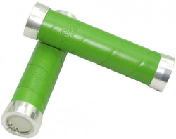 Ручки руля Brooks SLENDER LEATHER GRIPS apple-green