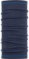 Бандана BUFF 3/4 LIGHTWEIGHT MERINO WOOL denim
