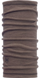 Бандана BUFF 3/4 LIGHTWEIGHT MERINO WOOL walnut brown
