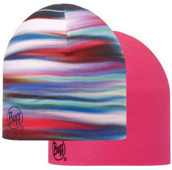 Шапка BUFF COOLMAX REVERSIBLE HAT lesh multi-deep fuchsia