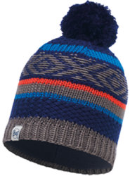 Шапка BUFF JUNIOR KNITTED & POLAR tipsy blue ink