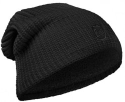 Шапка BUFF KNITTED POLAR HAT DRIP black