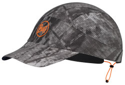 Кепка Buff PACK RUN CAP r-city jungle grey