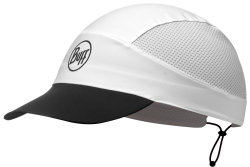 Кепка Buff PACK RUN CAP r-solid white