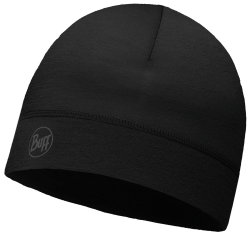 Шапка BUFF THERMONET HAT solid black