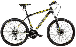 Велосипед Comanche NIAGARA COMP 26 black-yellow-blue