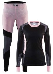 Термобелье Craft BASELAYER SET W black-cameo