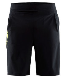 Шорты Craft DEFT SHORTS black-yellow
