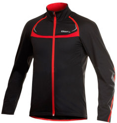 Велокуртка Craft PB STRETCH JACKET black-red