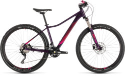 Велосипед Cube ACCESS WS RACE 27,5 aubergine-berry