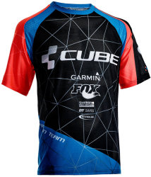 Веломайка Cube ACTION TEAM black-blue-flashred