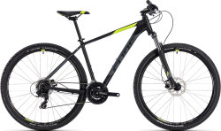 Велосипед Cube AIM PRO 27.5 black-flashyellow