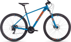 Велосипед Cube AIM PRO 27.5 blue-orange