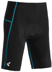 Велошорты Cube JUNIOR CYCLE SHORTS black-blue