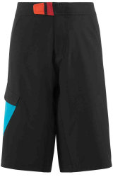 Велошорты Cube JUNIOR SHORTS black-blue-white